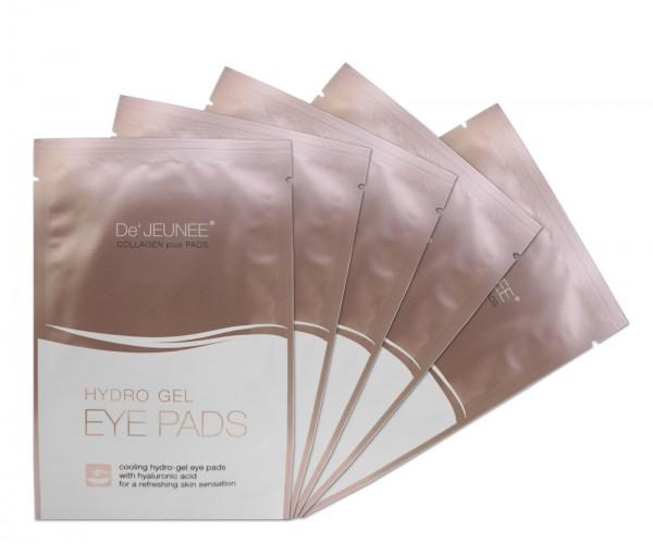 De' JEUNEE Collagen Hydrogel Eye Pads Augenpads (5x2 Stück)